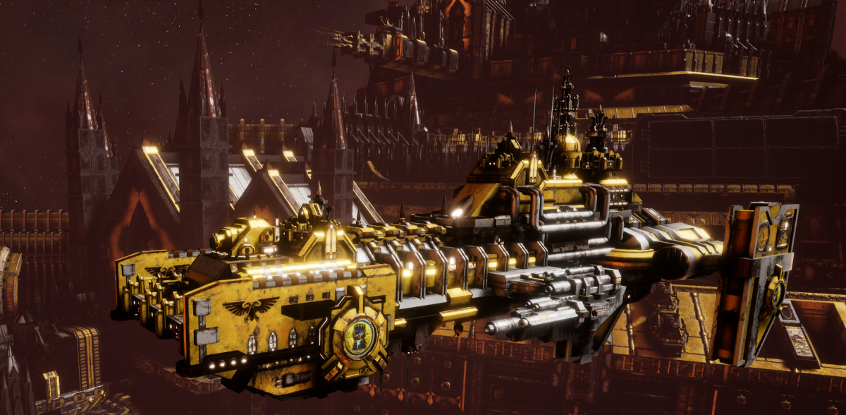 Adeptus Astartes Destroyer - Hunter (Imperial Fists Faction)