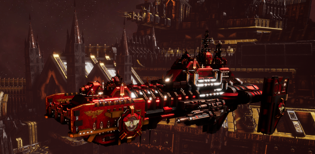 Adeptus Astartes Destroyer - Hunter (Blood Angels Faction)