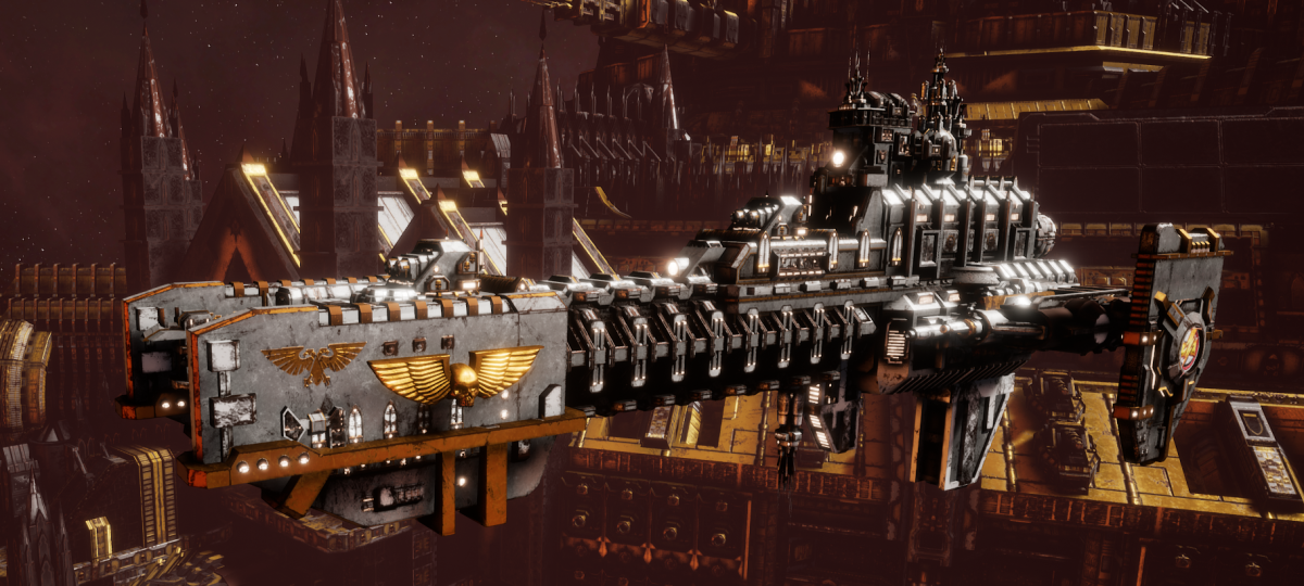 Adeptus Astartes Frigate - Gladius (White Scars Faction)