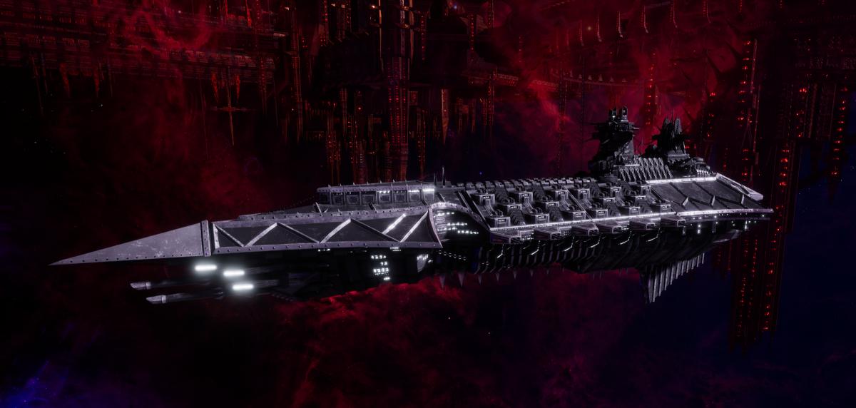 Chaos Cruiser - Murder (Iron Warriors Sub-Faction)