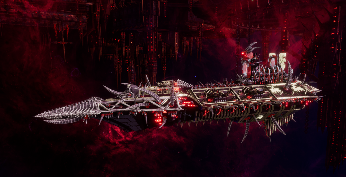 Chaos Cruiser - Slaughter (World Eaters Sub-Faction)