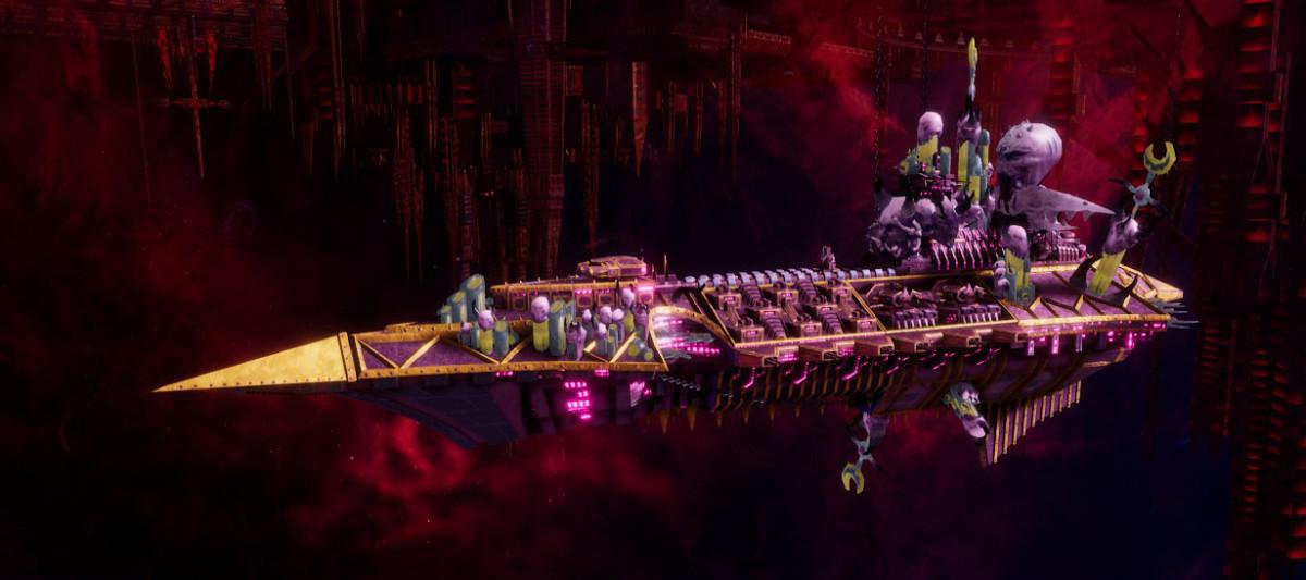 Chaos Cruiser - Emasculator (Emperor's Children)