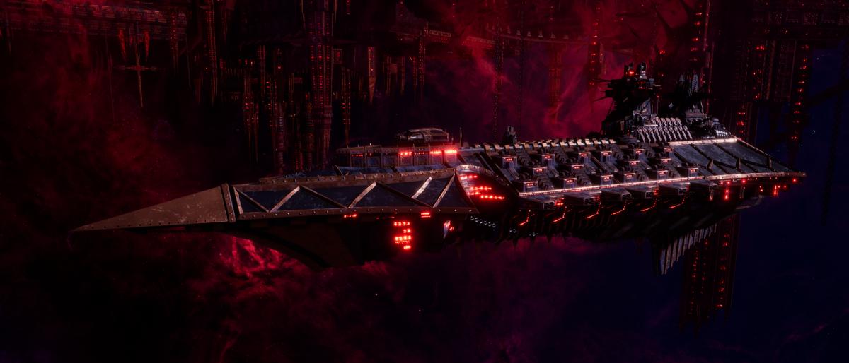 Chaos Cruiser - Carnage (Black Legion Sub-Faction)