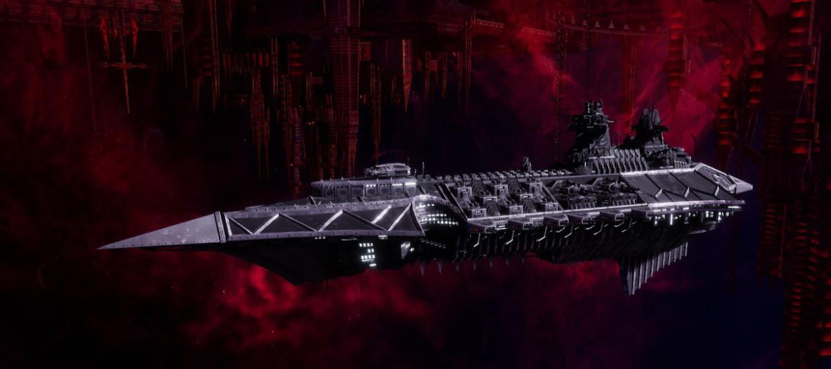 Chaos Cruiser - Emasculator (Iron Warriors)