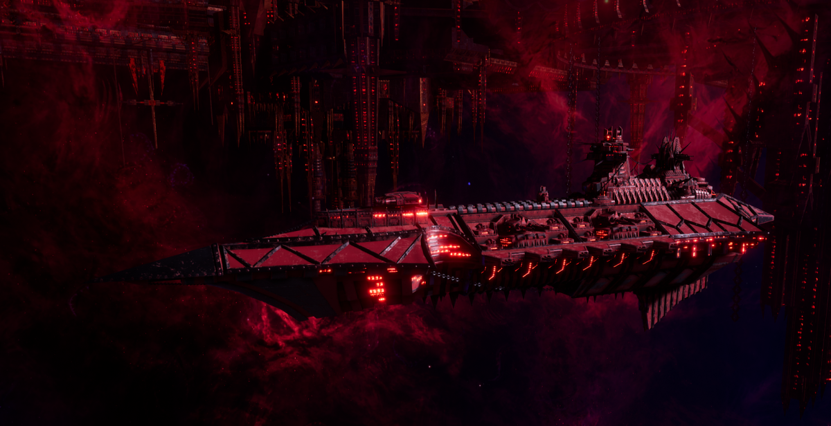 Chaos Cruiser - Slaughter (Word Bearers Sub-Faction)