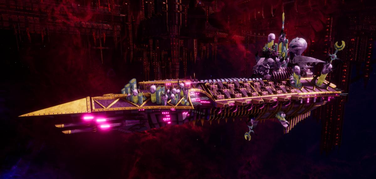 Chaos Cruiser - Murder (Emperor's Children Sub-Faction)