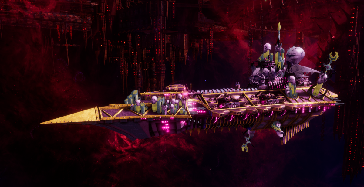 Chaos Cruiser - Slaughter (Emperor's Children Sub-Faction)