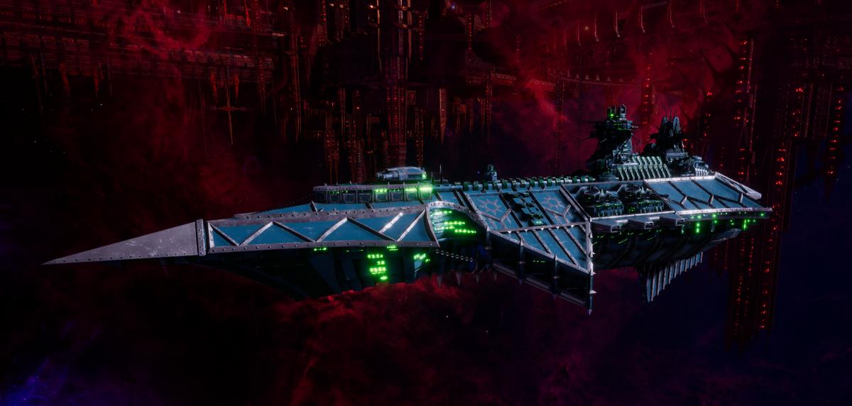 Chaos Cruiser - Devastation (Alpha Legion Sub-Faction)
