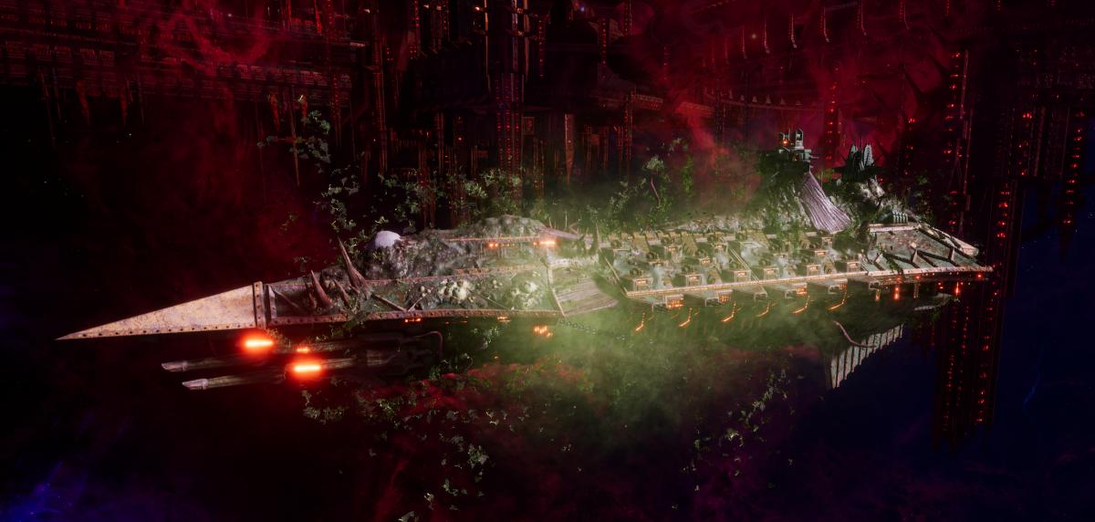 Chaos Cruiser - Murder (Death Guard Sub-Faction)