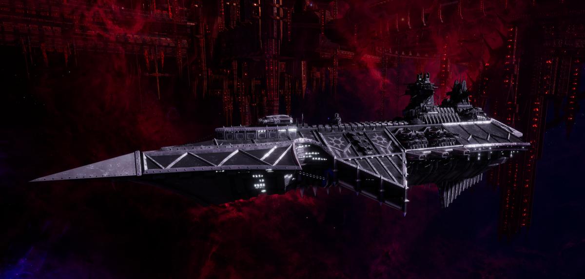 Chaos Cruiser - Devastation (Iron Warriors Sub-Faction)