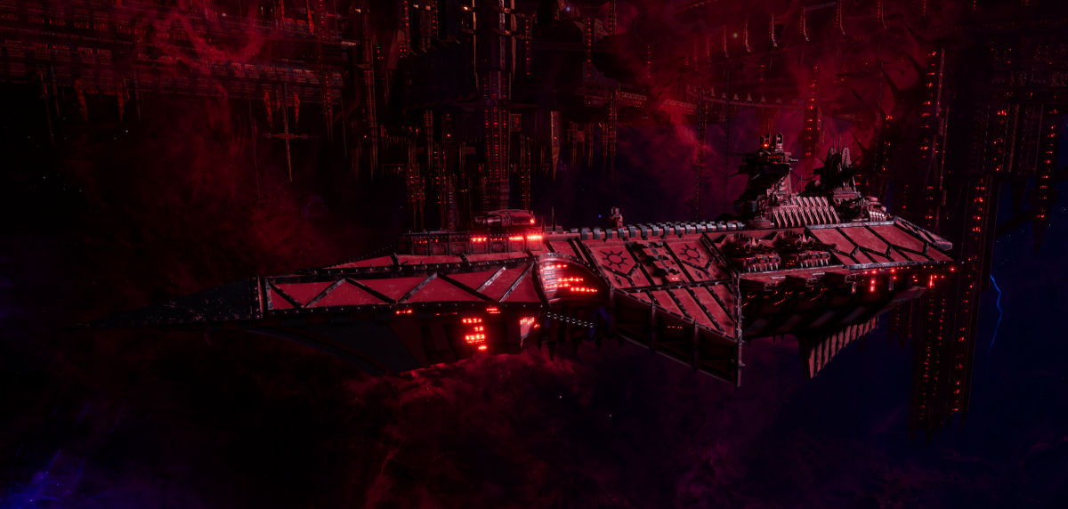 Chaos Cruiser - Devastation (Word Bearers Sub-Faction)