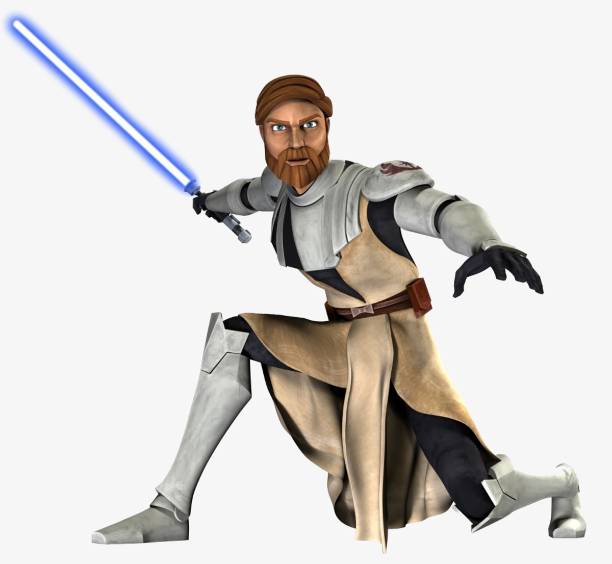 General Kenobi in the Clone Wars