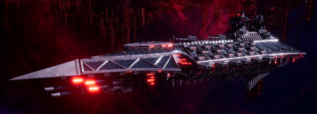 Chaos Battle Cruiser - Hades (Lost and the Damned Sub-Faction)