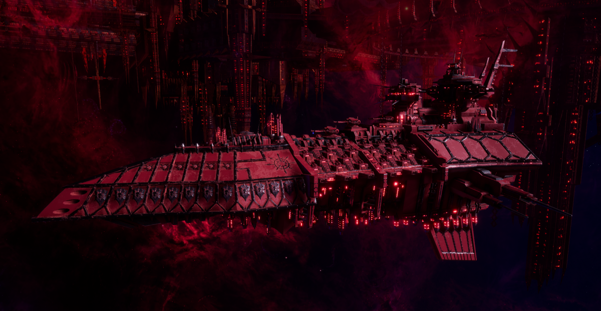 Chaos Grand Cruiser - Repulsive (Word Bearers Sub-Faction)