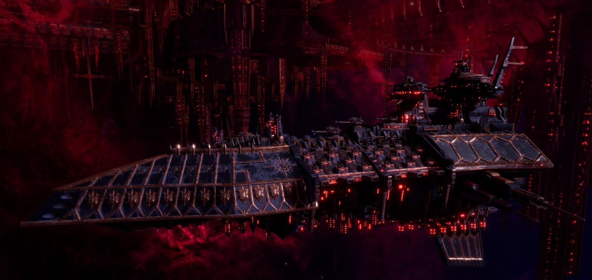 Chaos Grand Cruiser - Repulsive (Black Legion Sub-Faction)
