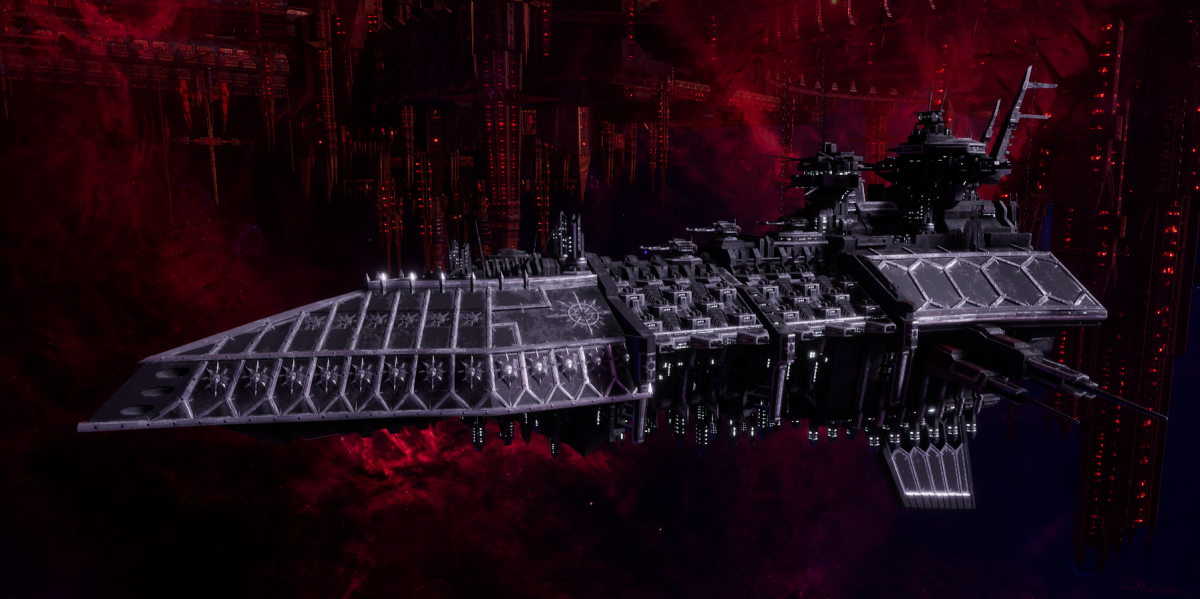 Chaos Grand Cruiser - Repulsive (Iron Warriors Sub-Faction)