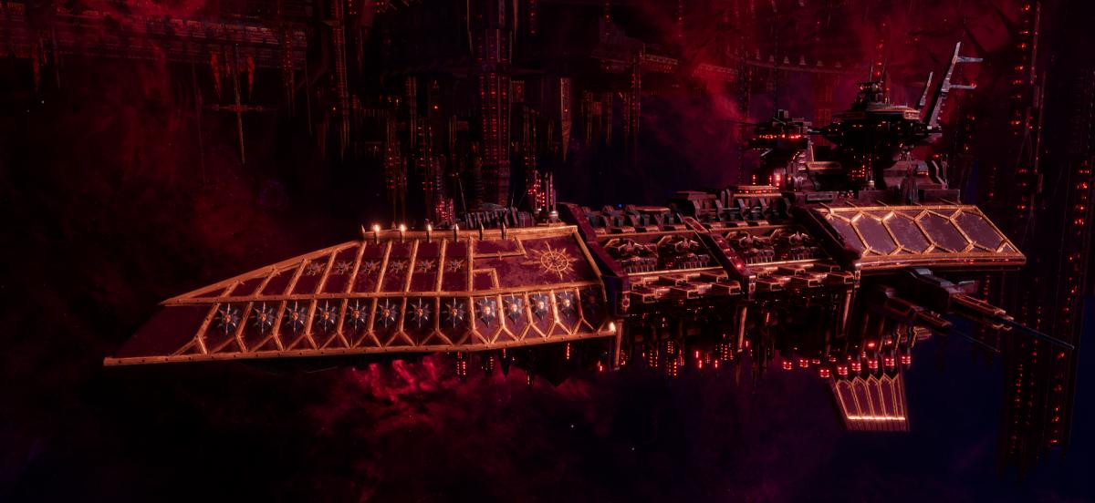 Chaos Grand Cruiser - Executor (Red Corsairs Sub-Faction)
