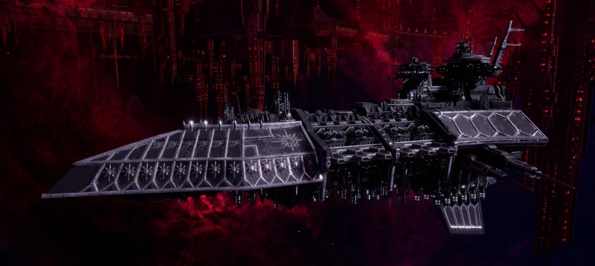 Chaos Grand Cruiser - Executor (Iron Warriors Sub-Faction)