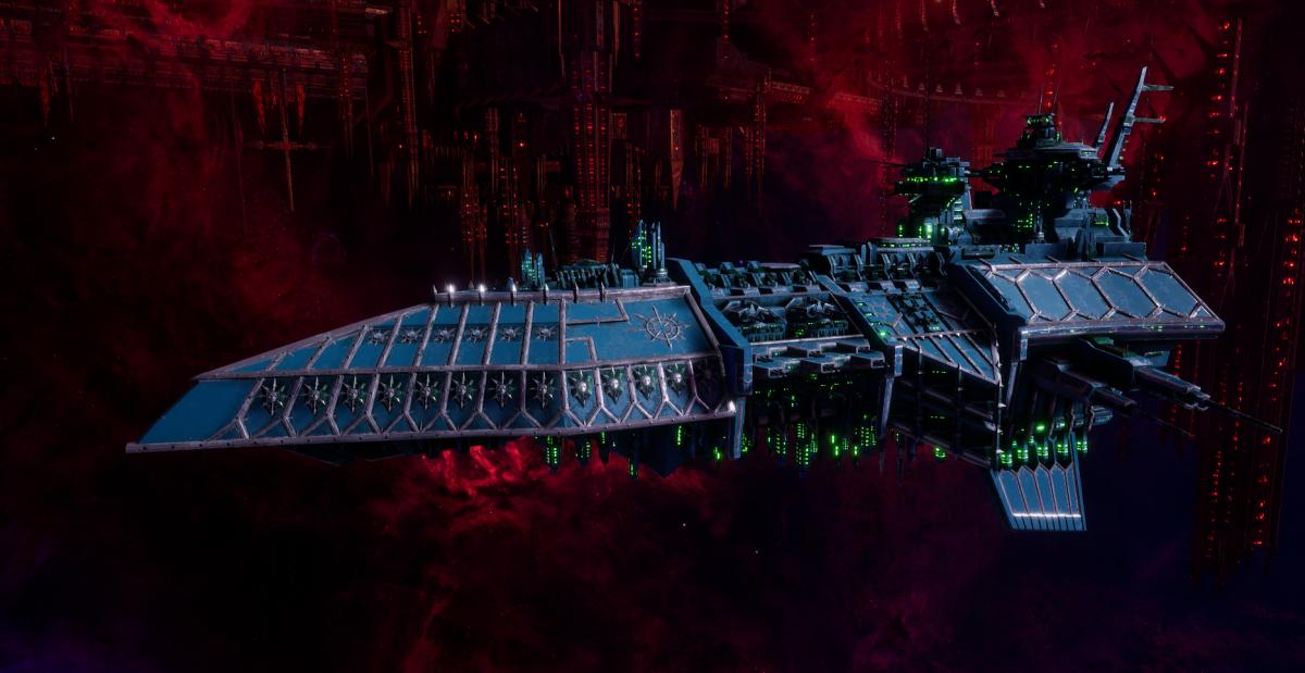 Chaos Grand Cruiser - Retaliator (Alpha Legion Sub-Faction)