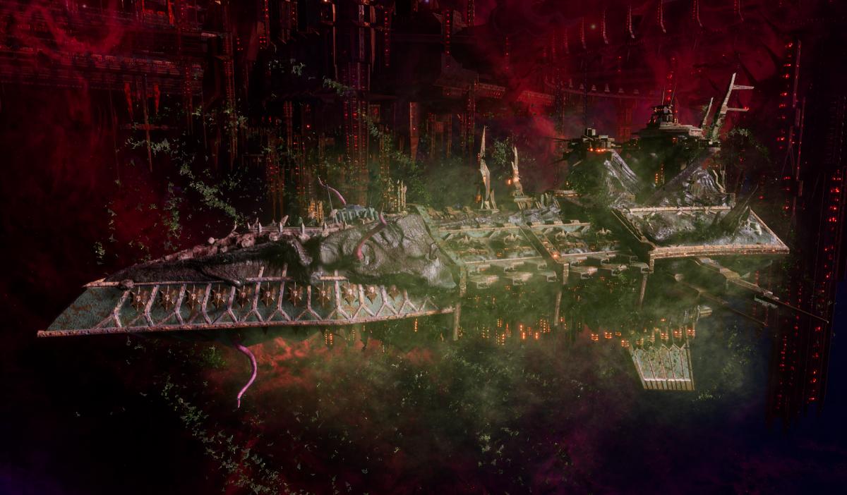 Chaos Grand Cruiser - Executor (Death Guard Sub-Faction)