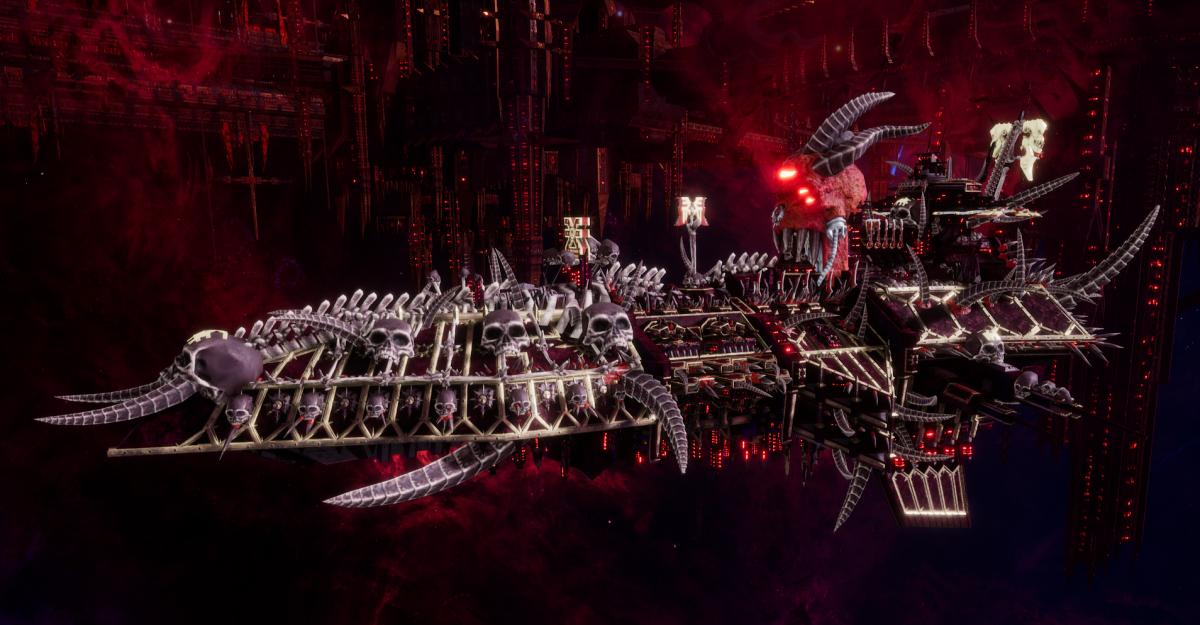Chaos Grand Cruiser - Retaliator (World Eaters Sub-Faction)