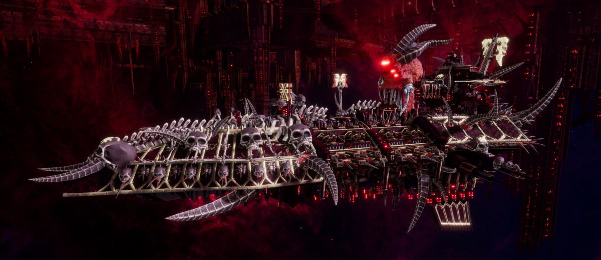 Chaos Grand Cruiser - Executor (World Eaters Sub-Faction)