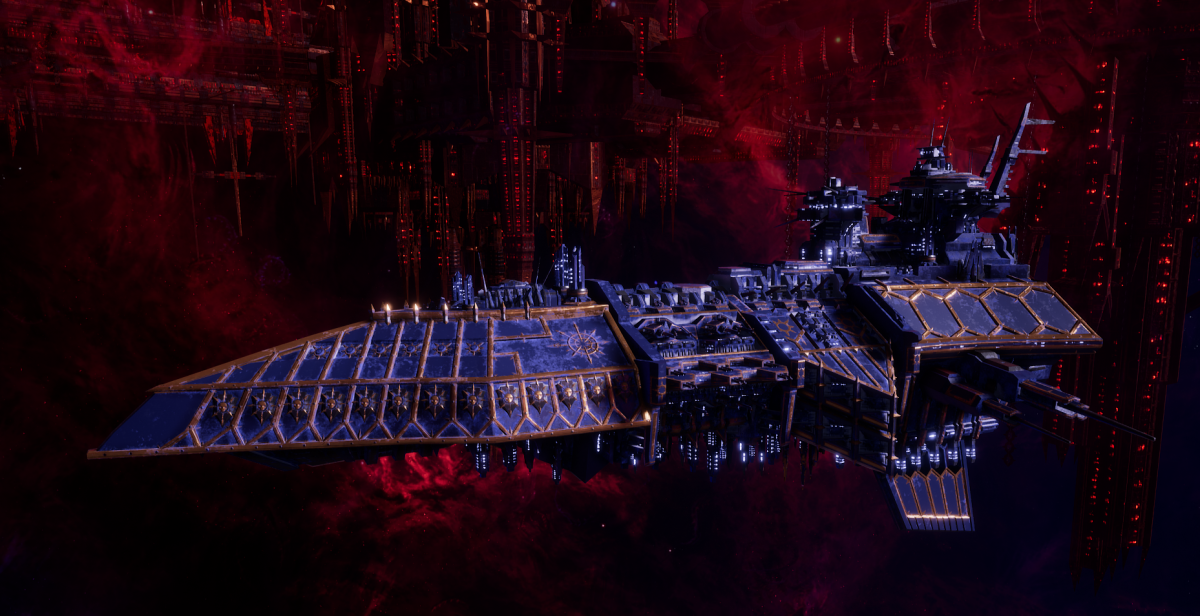 Chaos Grand Cruiser - Retaliator (Night Lords Sub-Faction)