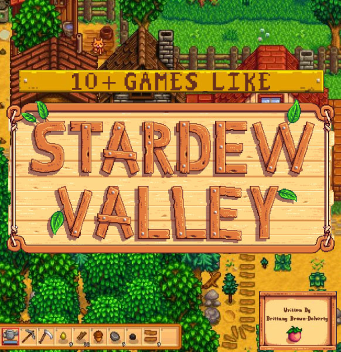 10+ Games Like Stardew Valley