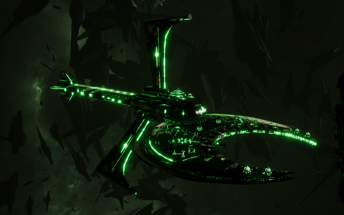 Necron Battle Cruiser - Scythe Reaper (Nepheru Sub-Faction)
