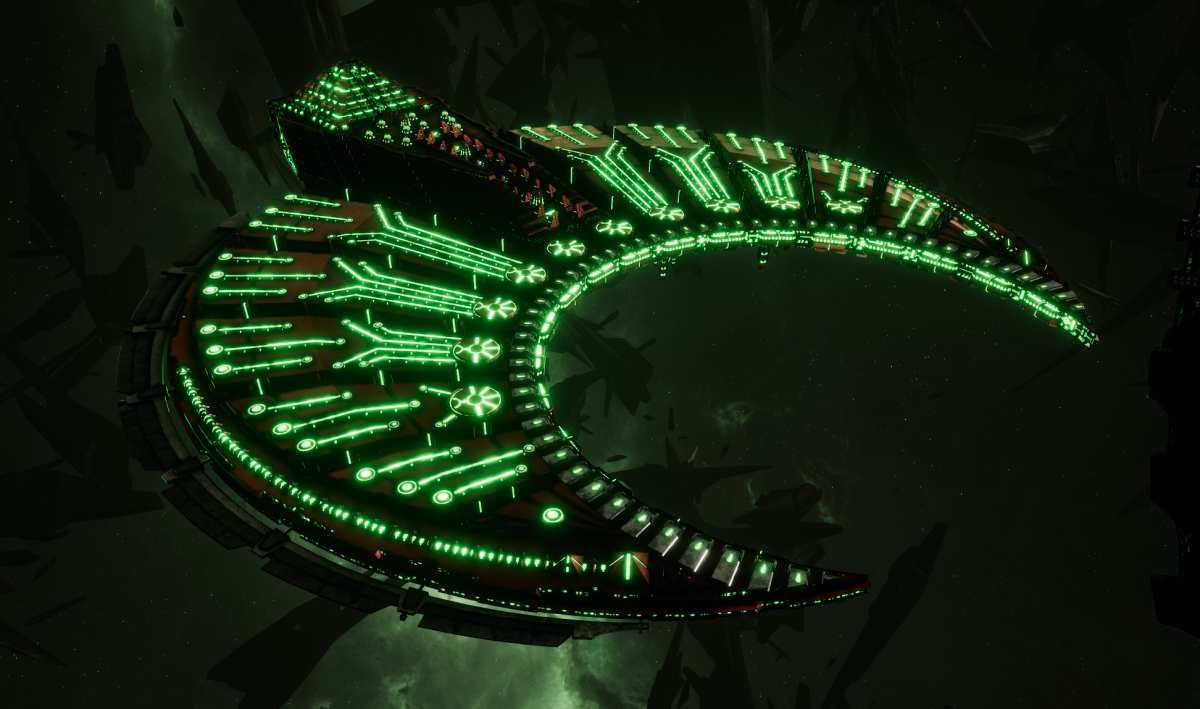 Necron Battleship - Cairn (Novokh Sub-Faction)