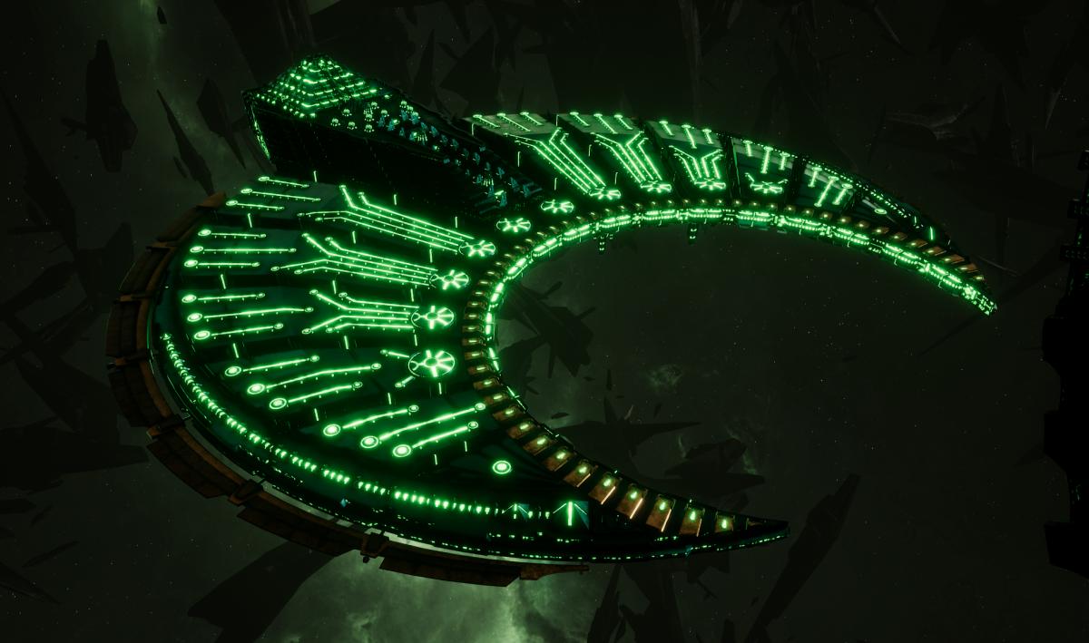 Necron Battleship - Cairn (Nihilakh Sub-Faction)
