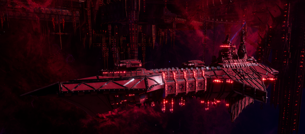 Chaos Light Cruiser - Hellbringer (Word Bearers Sub-Faction)
