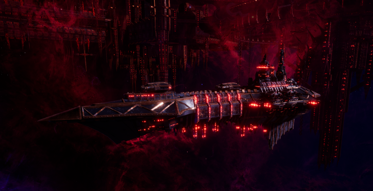 Chaos Light Cruiser - Hellbringer Mk2 (Black Legion Sub-Faction)