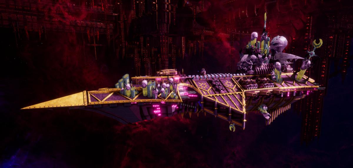 Chaos Cruiser - Devastation (Emperor's Children Sub-Faction)