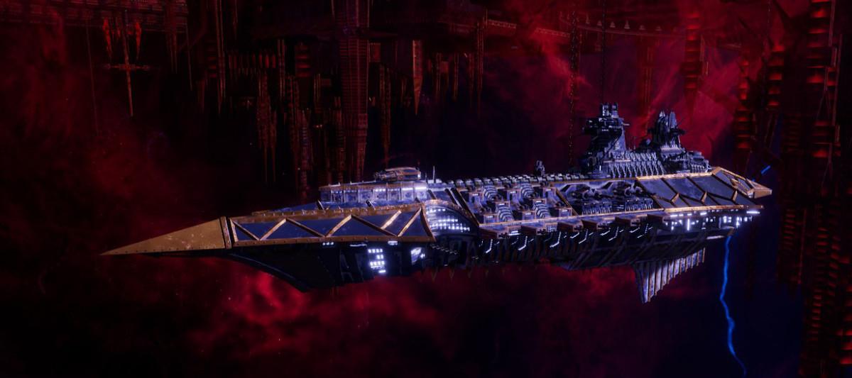 Chaos Cruiser - Emasculator (Night Lords)