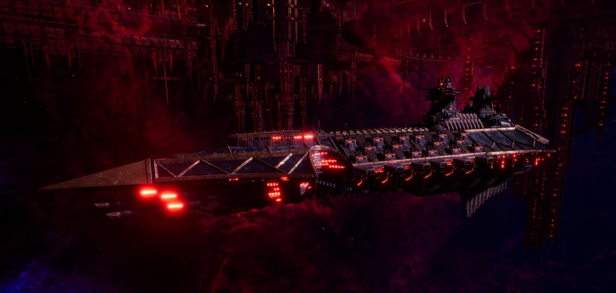 Chaos Cruiser - Murder (Black Legion Sub-Faction)
