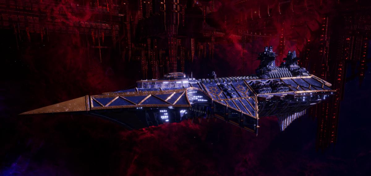 Chaos Cruiser - Devastation (Night Lords Sub-Faction)
