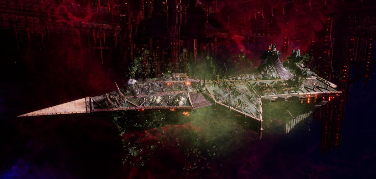 Chaos Cruiser - Devastation (Death Guard Sub-Faction)