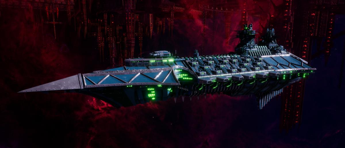 Chaos Cruiser - Carnage (Alpha Legion Sub-Faction)