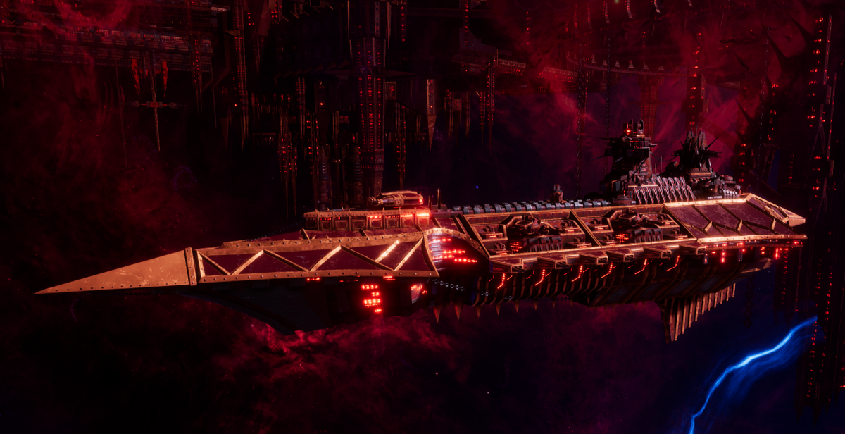Chaos Cruiser - Slaughter (Red Corsairs Sub-Faction)