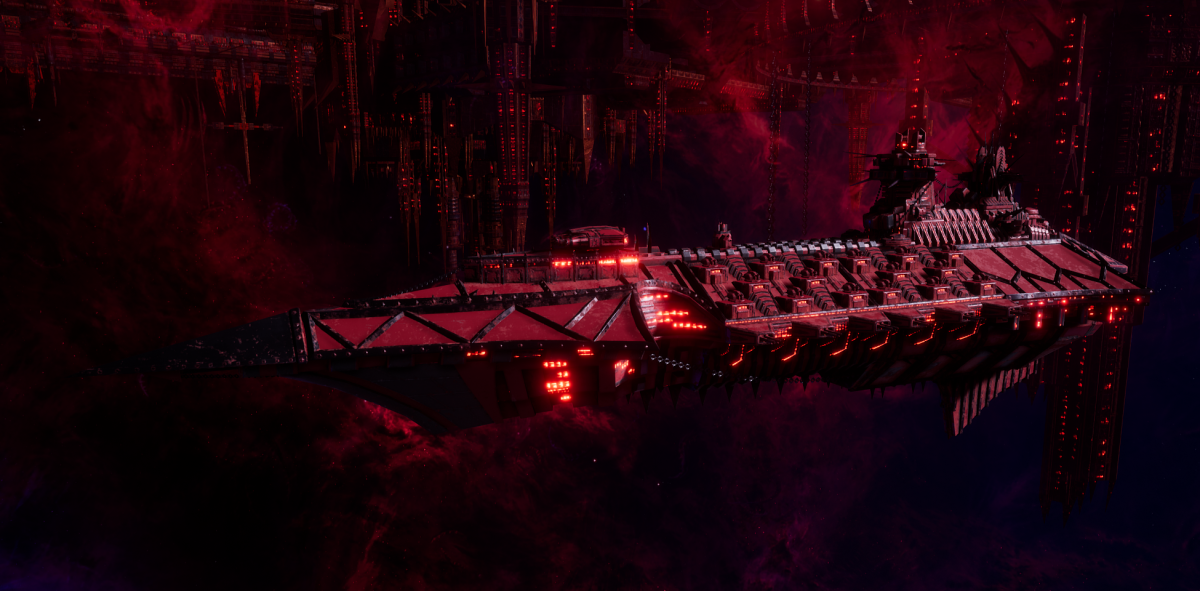 Chaos Cruiser - Carnage (Word Bearers Sub-Faction)