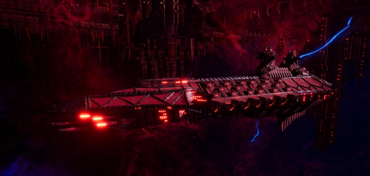 Chaos Cruiser - Murder (Word Bearers Sub-Faction)