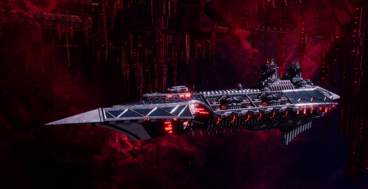 Chaos Cruiser - Slaughter (Lost and the Damned Sub-Faction)