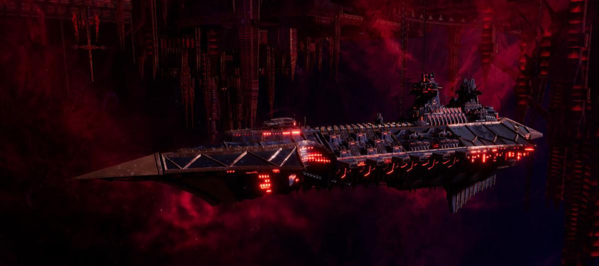 Chaos Cruiser - Emasculator (Black Legion)