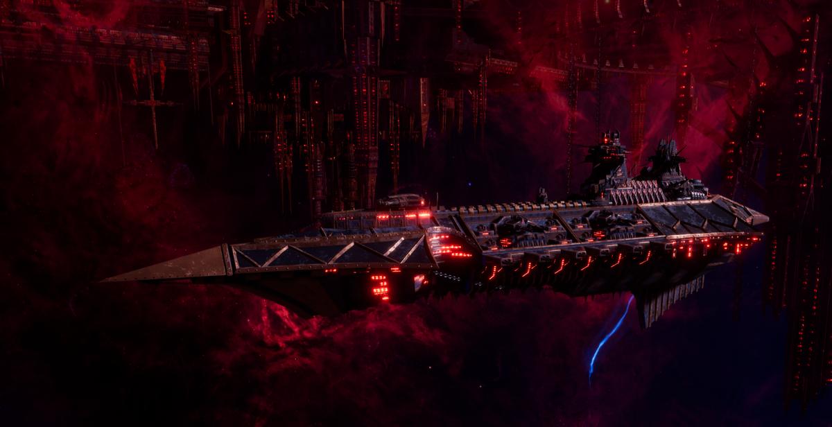 Chaos Cruiser - Slaughter (Black Legion Sub-Faction)