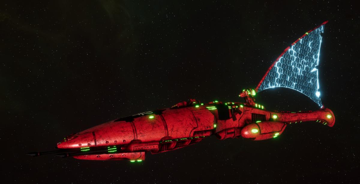 Asuryani Cruiser - Firestorm Dragonship [Ynnari - Eldar Sub-Faction]