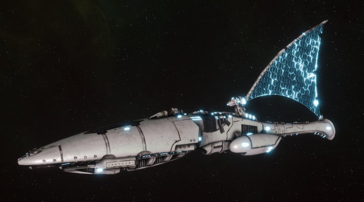 Asuryani Cruiser - Ghost Dragonship [Os'Tara - Eldar Sub-Faction]
