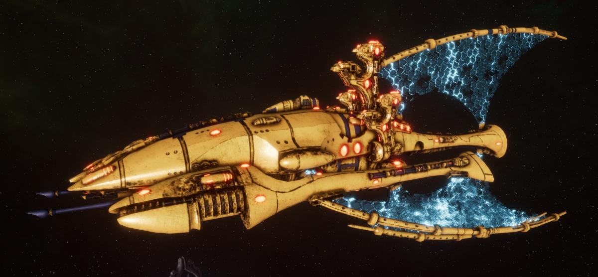Asuryani Battle Cruiser - Phoenix Ship [Iyanden - Eldar Sub-Faction]