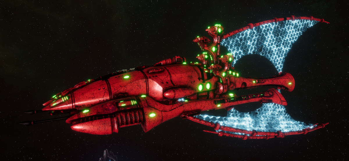 Asuryani Battle Cruiser - Phoenix Ship [Ynnari - Eldar Sub-Faction]