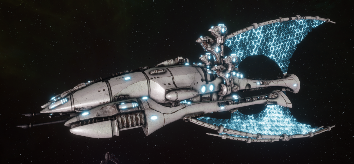 Asuryani Battle Cruiser - Phoenix Ship [Os'Tara - Eldar Sub-Faction]